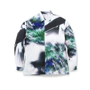 tk.TAKEO KIKUCHI(ティーケー タケオ キクチ)アートプリントシャツ world-direct