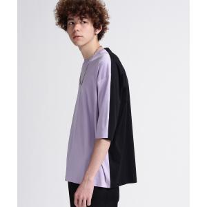 tk.TAKEO KIKUCHI(ティーケー タケオ キクチ)スーピマスムース6分袖Tシャツ|world-direct
