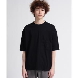 tk.TAKEO KIKUCHI(ティーケー タケオ キクチ)【JAPAN MADE】製品染めオーバーサイズTシャツ|world-direct