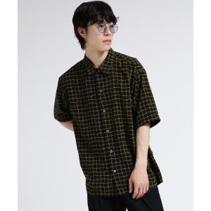 tk.TAKEO KIKUCHI(ティーケー タケオ キクチ)ラフグラフチェックシャツ world-direct