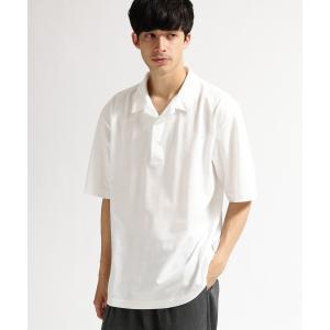 tk.TAKEO KIKUCHI(ティーケー タケオ キクチ)鹿の子 製品染め開襟ポロシャツ|world-direct