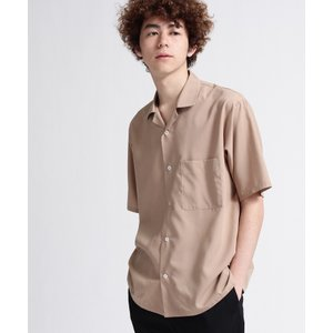 tk.TAKEO KIKUCHI(ティーケー タケオ キクチ)スパンローン オープンカラーシャツ world-direct