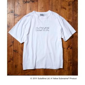 tk.TAKEO KIKUCHI(ティーケー タケオ キクチ)BEATLES × tk.TAKEO KIKUCHI 「LOVE」バックプリントTシャツ|world-direct