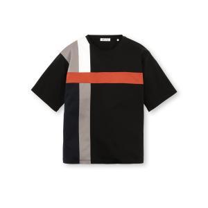 tk.TAKEO KIKUCHI(ティーケー タケオ キクチ)スムースクロスオーバーTシャツ|world-direct