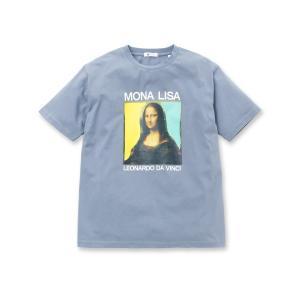 tk.TAKEO KIKUCHI(ティーケー タケオ キクチ)アートコレクション「モナリザ」Tシャツ|world-direct
