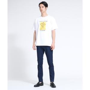 tk.TAKEO KIKUCHI(ティーケー タケオ キクチ)アートコレクション「ひまわり」Tシャツ|world-direct|13