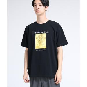 tk.TAKEO KIKUCHI(ティーケー タケオ キクチ)アートコレクション「ひまわり」Tシャツ|world-direct|03