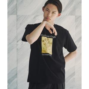 tk.TAKEO KIKUCHI(ティーケー タケオ キクチ)アートコレクション「ひまわり」Tシャツ|world-direct|04