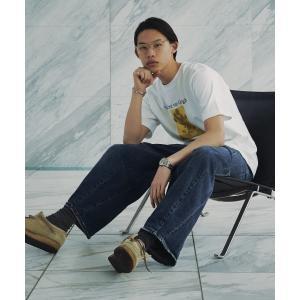 tk.TAKEO KIKUCHI(ティーケー タケオ キクチ)アートコレクション「ひまわり」Tシャツ|world-direct|05