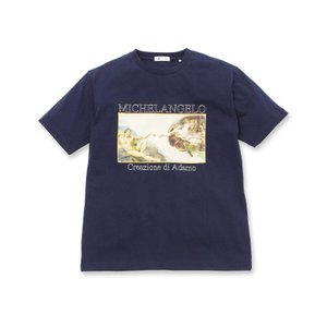 tk.TAKEO KIKUCHI(ティーケー タケオ キクチ)アートコレクション「アダムの創造」Tシャツ|world-direct