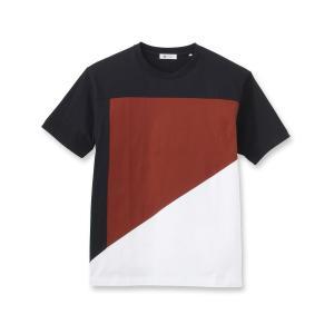 tk.TAKEO KIKUCHI(ティーケー タケオ キクチ)汗染み防止抗菌防臭 切り替えパネルTシャツ|world-direct