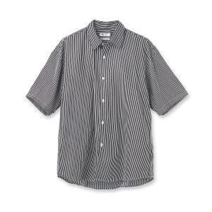 tk.TAKEO KIKUCHI(ティーケー タケオ キクチ)ストライプビッグシルエットシャツ|world-direct