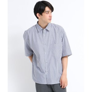tk.TAKEO KIKUCHI(ティーケー タケオ キクチ)ストライプオーバーシャツ|world-direct|02