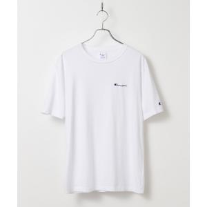 tk.TAKEO KIKUCHI(ティーケー タケオ キクチ)Champion for tk.TAKEO KIKUCHI ロゴ刺繍Tシャツ world-direct