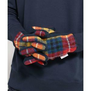 BASE CONTROL(ベースコントロール)【スマホ対応】グローブ 手袋 ハリスツイード生地使用