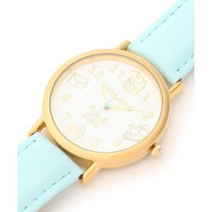 PINK-latte(ピンク ラテ)キュートフェイスカラーベルト腕時計|world-direct