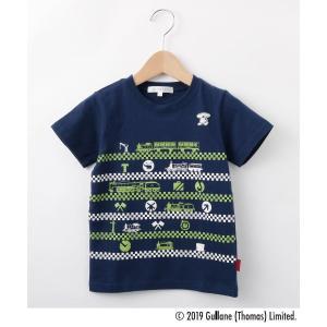 3can4on(Kids)(サンカンシオン(キッズ))【90cm〜120cm】きかんしゃトーマス コラボTシャツ world-direct
