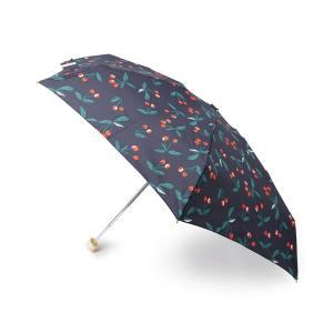 Dessin(Ladies)(デッサン(レディース))Wpc. 晴雨兼用チェリー折り畳み傘|world-direct