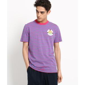 Dessin(Men)(デッサン(メンズ))SCOTCH&SODA トロピカルボーダーTシャツ|world-direct