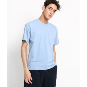 Dessin(Men)(デッサン(メンズ))DANTON  ワンポケットクルーネックTシャツ|world-direct