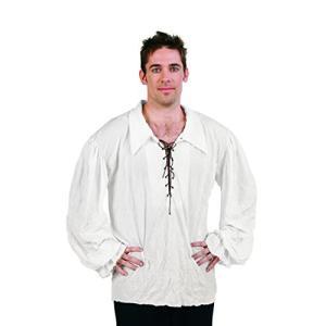 海外より出荷【並行輸入品】RG Costumes 80331-BE Renaissance Shirt Off Costume - Beige