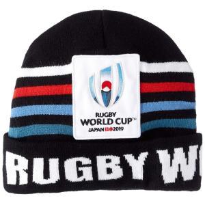 [カンタベリー] ラグビーワールドカップ グッズ RWC2019 EVENT LOGO メンズ ブラック 日本 F (FREE サイズ)