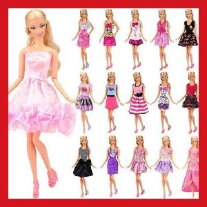 リカちゃん 着せ替え 服 ドレス プリンセスドレス 12枚セット