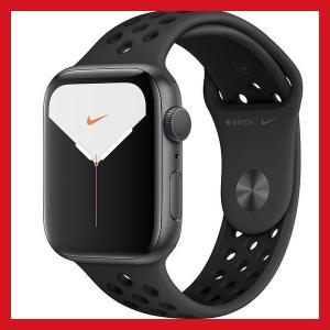Apple Watch Nike Series 5 GPSモデル 44mm スペースグレイアルミニウ...