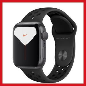 Apple Watch Nike Series 5 GPSモデル 40mm スペースグレイアルミニウ...