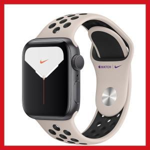 Apple Watch Nike Series 5 GPSモデル - 40mmスペースグレイアルミニ...