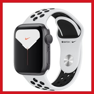 Apple Watch Nike Series 5 GPSモデル 40mmスペースグレイアルミニウム...