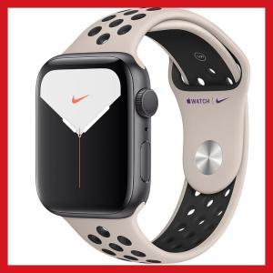 Apple Watch Nike Series 5 GPSモデル - 44mmスペースグレイアルミニ...