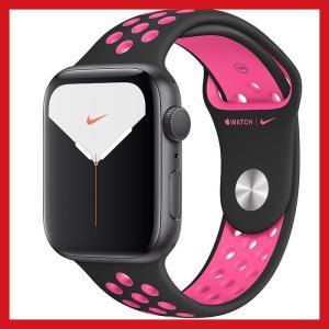 Apple Watch Nike Series 5 GPSモデル 44mmスペースグレイアルミニウム...
