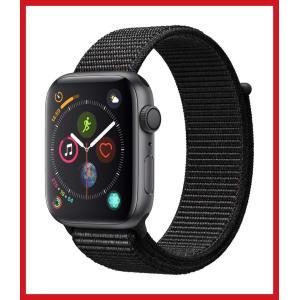 Apple Watch Series 4 (GPSモデル) 44mm スペースグレイアルミニウムケー...