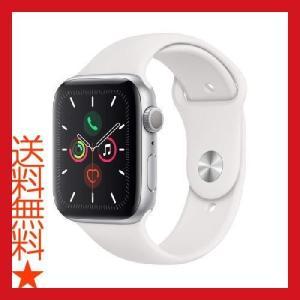 Apple Watch Series 5 (GPSモデル) 44mm シルバーアルミニウムケースとホ...