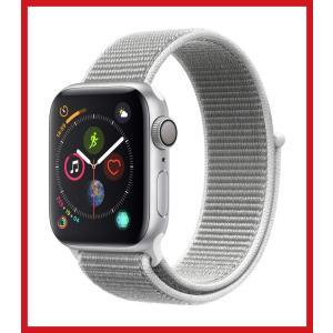 Apple Watch Series 4 (GPSモデル) 40mm シルバーアルミニウムケースとシ...