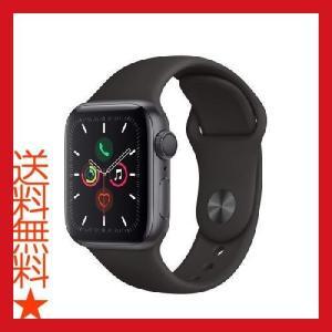 Apple Watch Series 5(GPSモデル) 40mmスペースグレイアルミニウムケースと...