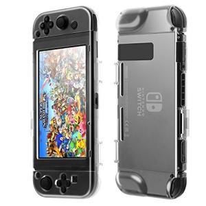 ・Nintendo Switch用本体とJoy-Conの保護ケースセットです。全面保護タイプなのでキ...