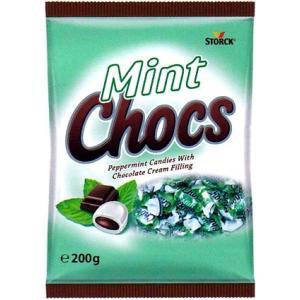 ココア風味のフィリングが入ったミントキャンディー。爽やかなミントフレイバーがクセになります。