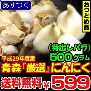 にんにく 国産 青森 発芽にんにく バラ【送料無料】 500g にんにく ネット詰め 青森にんにく 芽出し トップブランド 中国産と比べて|world-wand