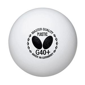 バタフライ(Butterfly) 卓球 練習用 ボール マスタークオリティプラスチック G40+ (...