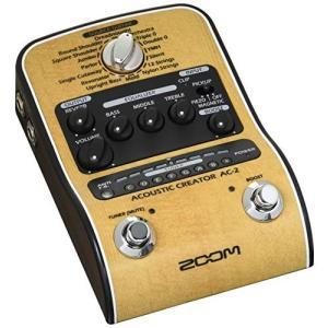 ZOOM ズーム Acoustic Creator アコースティックギター用プリアンプ AC-2
