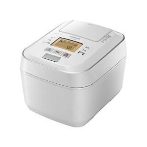 日立 圧力スチームIHジャー炊飯器(5.5合炊き) パールホワイトHITACHI 圧力スチーム ふっ...