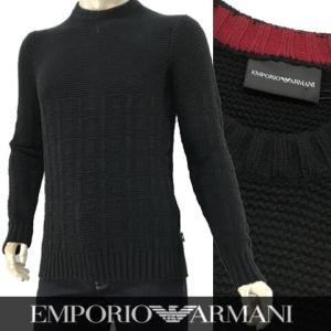 エンポリオアルマーニ/EMPORIO ARMANI/メンズ/ニット/6Z1MXA 1MQWZ/ブラッ...