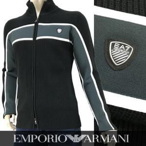 エンポリオアルマーニ エアセッテ/EMPORIO ARMANI EA7 メンズ/ジップアップニット/...