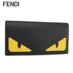 フェンディ/FENDI メンズ 長財布/サイフ 7M0264 O73/ブラック/F0U9T/20ss