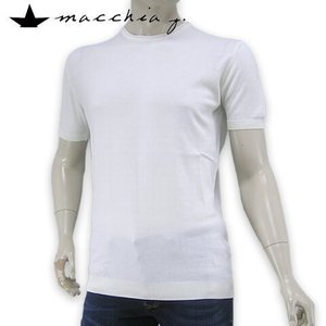 2019SS SUMMER SALE/マッキアジェー/MACCHIA J メンズ ニットTシャツ M...