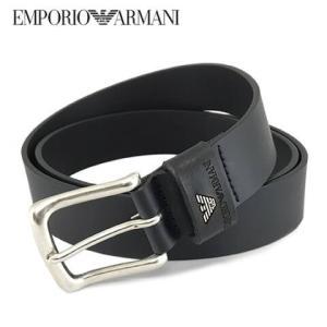エンポリオアルマーニ/EMPORIO ARMANI メンズ ベルト Y4S198 YDD4G ブラッ...