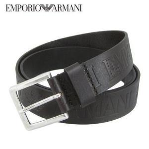 エンポリオアルマーニ/EMPORIO ARMANI メンズ ベルト Y4S240 YDY4G ダーク...