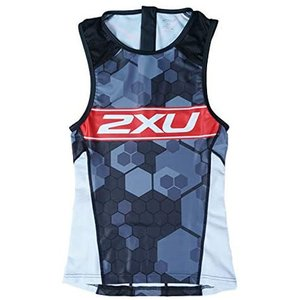 2XU X-VENT リアジップ トライトップ NSB/RED worldcycle-wh